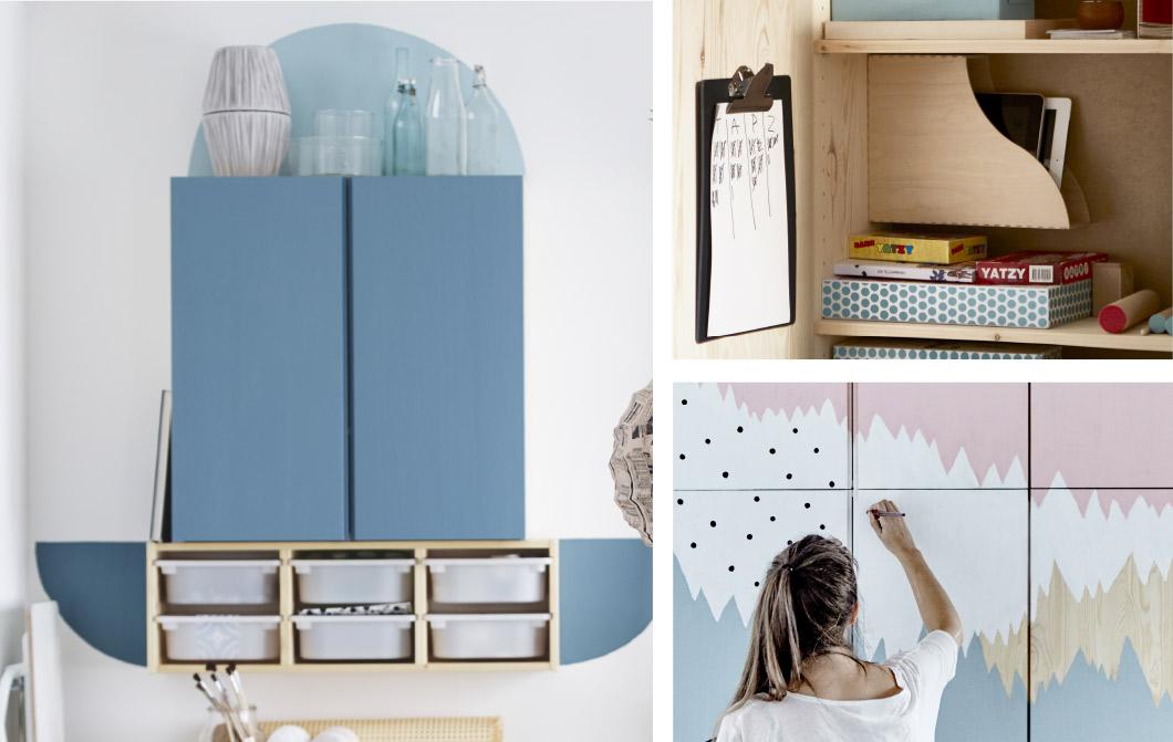 Ikea Hacking 6 Idee Per Personalizzare Il Tuo Scaffale