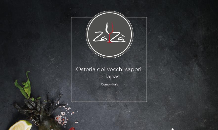 Progettazione grafica Logo Zazà Como