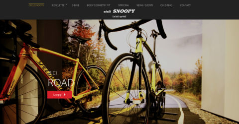 Sito web Ciclisnoopy
